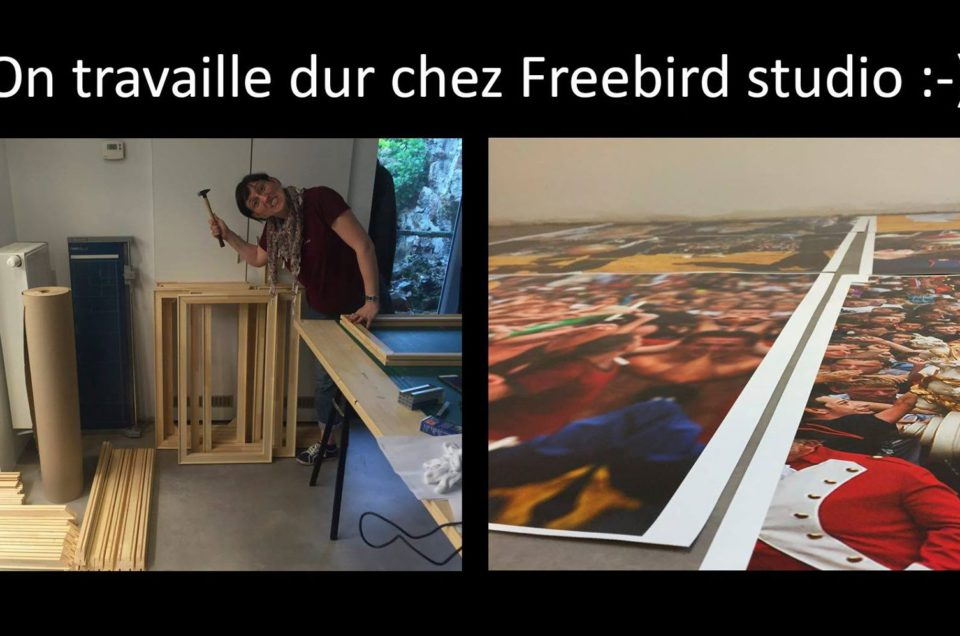 On travaille dur chez Freebird Studio