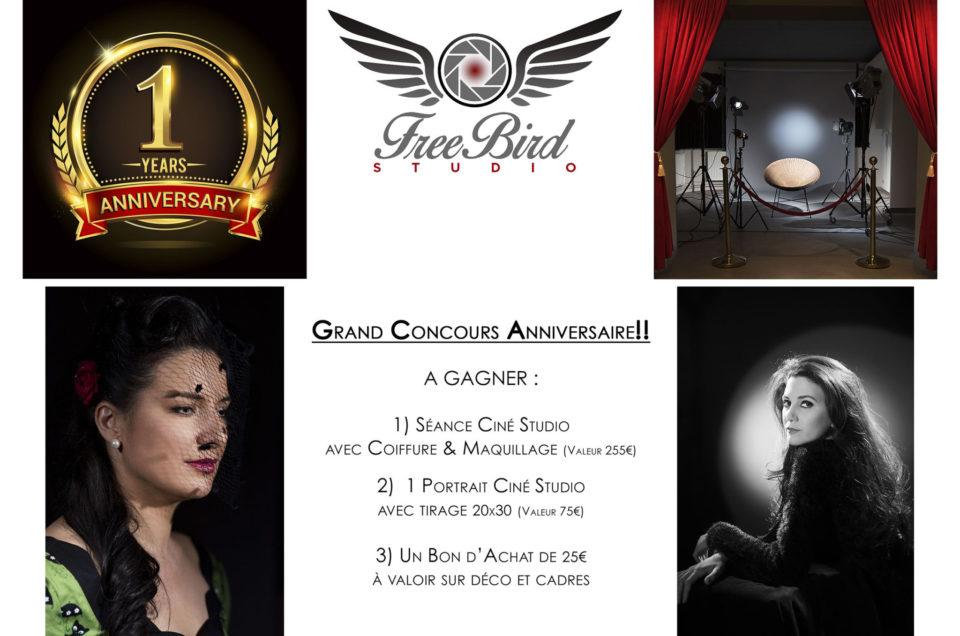 Grand Concours  Anniversaire sur Facebook!