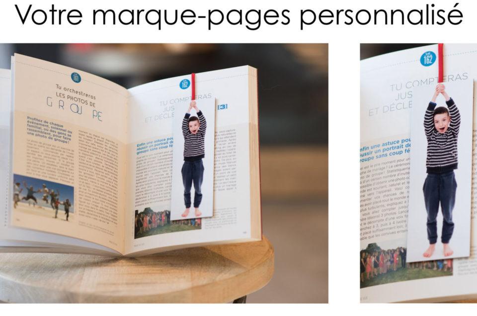Marque-pages personnalisé